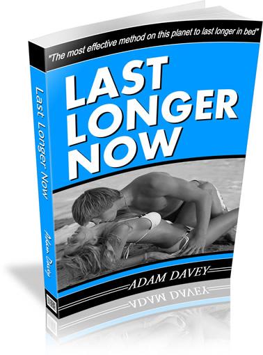 Last Longer Now eBook pdf Adam Davey